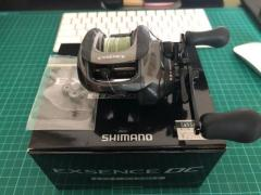 Shimano Exsence DC Left with Hedgehog Studio Micro Bearing