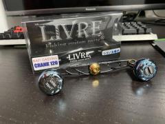Livre bait casting crank 120 (LEFT)