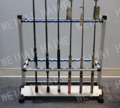 BNIB 24 piece Aluminium Rod racks for sale