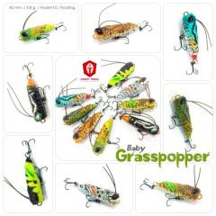New/Cheap Baby Grasspopper! Awesome small popper for light game!