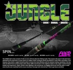 Feed jungle PE4 casting rod (spinning)