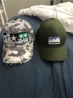 Obof and patagonia cap