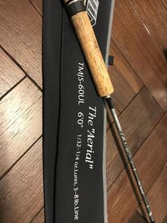 "Evergreen Temujin ""The Aerial"" Spinning Rod"