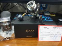Selling: 2018 Stella 4000 with additional spool and yumeya knob (Reserved)