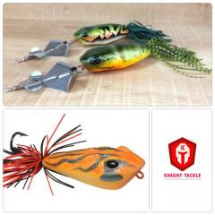 Buy 2 new pieces of 32.0 g. buzzbait and get 1 free 32.5. g. big jump frog.