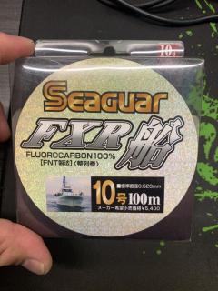 Seaguar Flurocarbon Lead Line 100M