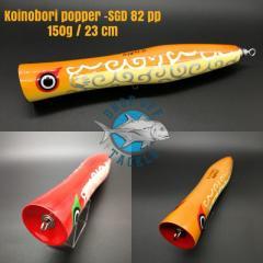 Sky Grey Koinobori Popper / Stickbait