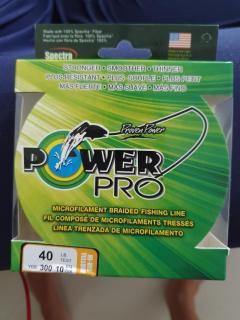 Powerpro 40lb 300yard