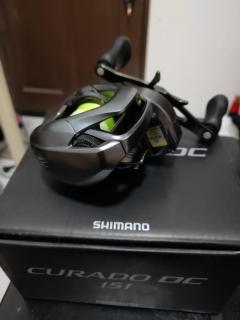 Shimano curado DC 6.2 left
