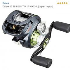 Daiwa Zillion TW 1516 XXHL (Lefty)