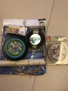 DaHo Hollow Spectra Needle Tools & additional some item (New)  accessories included