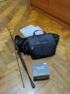 Light Luring set up bundle (with Rapala bag and tackle boxes!)