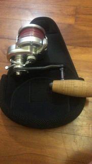Shimano nrhg2001 with som handle