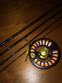 fly fishing setup temple fork axiom