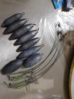 Rangongs and sinkers for sale