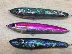 3 GT Floating Stick-bait Swim-bait popping lures like Carpenter Hammerhead Shimano