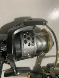 Fishing reel clearance