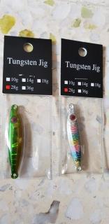 Tungsten Jigs