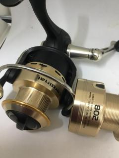 Abu Cardinal 802 with new unused spare spool
