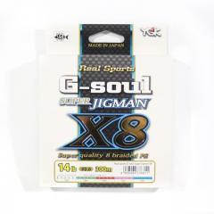 YGK P.E Line G Soul Super Jigman X8 300m P.E 0.6 , 14lb (6811)