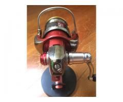 Rare red custom r with Kix air spool