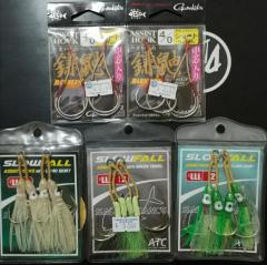 5 packet BNIB Slow Jigging Hooks