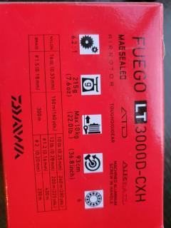 DAIWA FUEGO LT3000-CXH