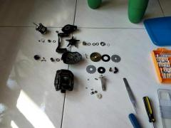 Reel servicing