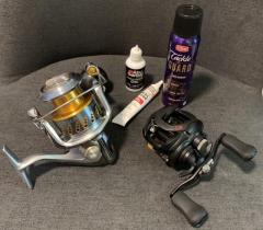 Fishing Reels Maintenance (Spinning & BC)