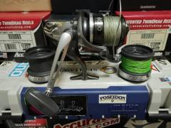 Shimano Speedcast 8000 with 3 spools Surf Reel