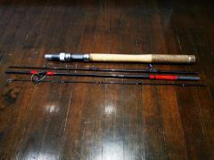 *BNIB* Huerco XT611-4s 4-piece travel spinning rod