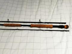 Strudwick DBT #12, 3 piece 12 weight fly rod