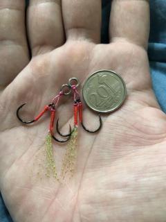 Micro jig assist hook