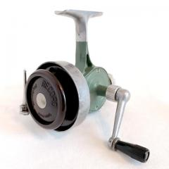 Special Vintage Thommen Record Spinning Reel 50-400 Green