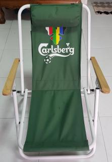 Carlsberg Foldable Beach Chair