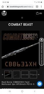 Bone combat beast cbb631xh pe1.5-3(reserved)