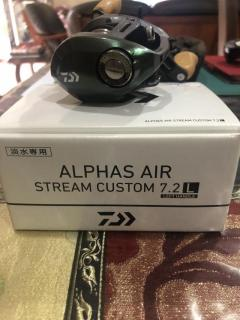 WTS>ALPHAS AIR STREAM CUSTOM 7.2