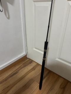 Custom built jigging rod