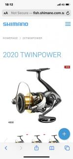 Shimano twinpower 4000