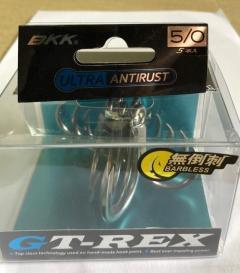 BKK GT REX treble hooks