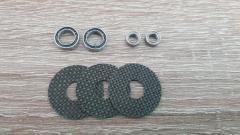 CNC Carbontex drag washers & bearings upgrades