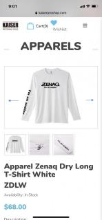 Zenaq Long Sleeves T Shirt