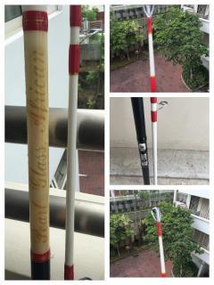 Pearl glass rod
