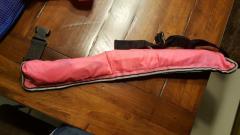 Waist life vest auto inflatable