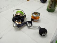 Daiwa certate 3000 Spare Spool and  RCS power knob included *price reduction*