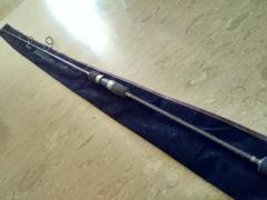 Fishing jigging rod