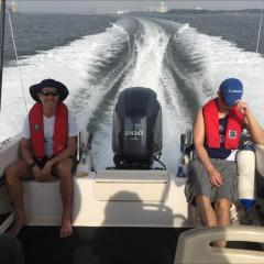 April 2017 Fishing Competition on our Grady White.