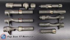 Fuji Reelseats Size 17 Types