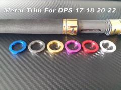 Rod Building Metal Trims For Fuji DPS 17 18 20 22