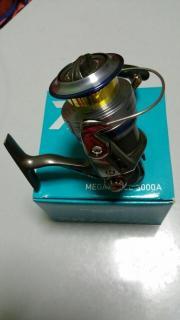 daiwa megaforce 3000a